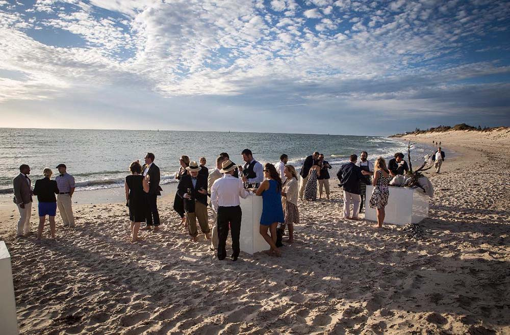 beach wedding catering in Adelaide
